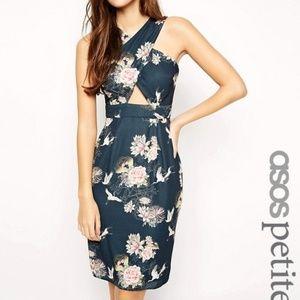 ASOS PETITE Size 4 Cross Front Dress